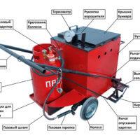 Ручной заливщик швов ПКЗ-70