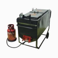термоизолированный битумоварочный котёл ПК-200 фото