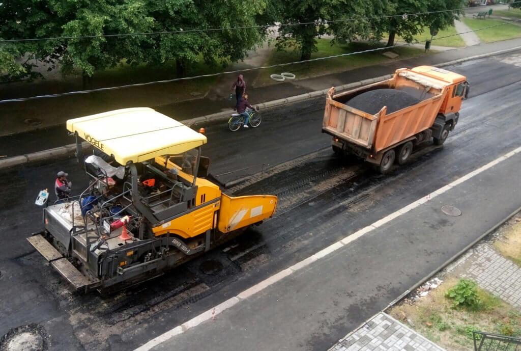 Воссоздание покрытия дороги фото