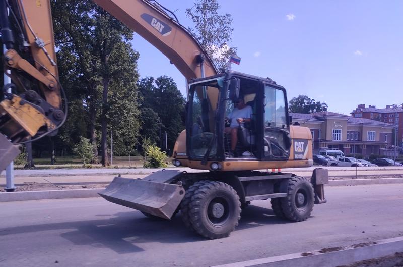 ремонт дорожного покрытия фото