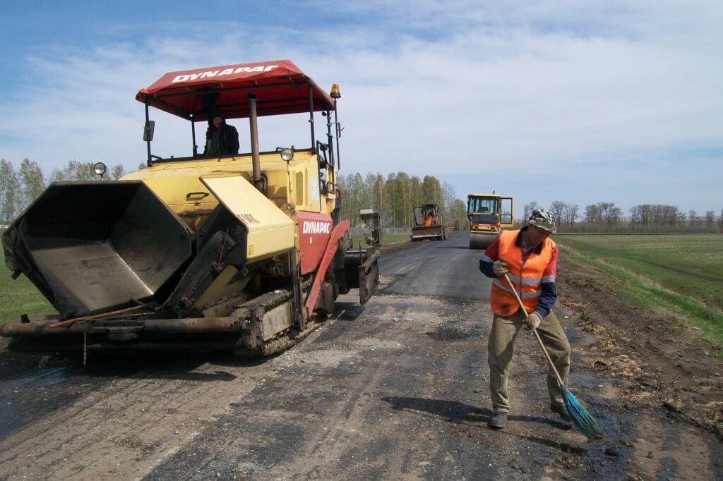 Капитальный ремонт автомобильной дороги_фото