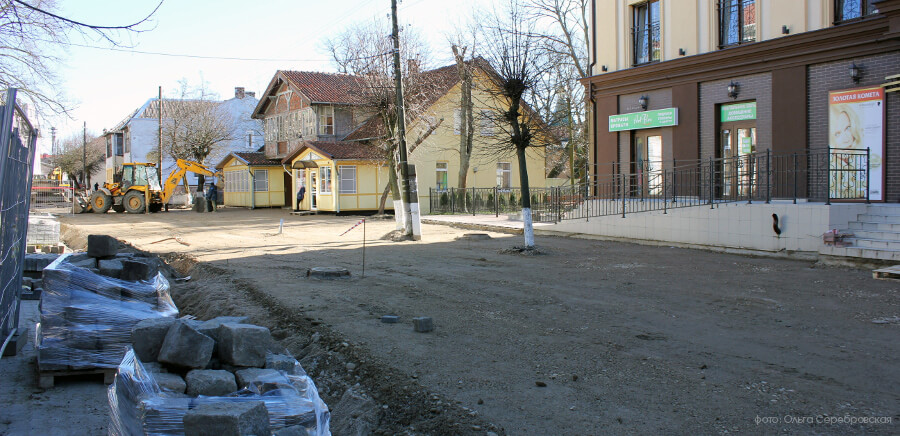 ремонт бордюров на дороге