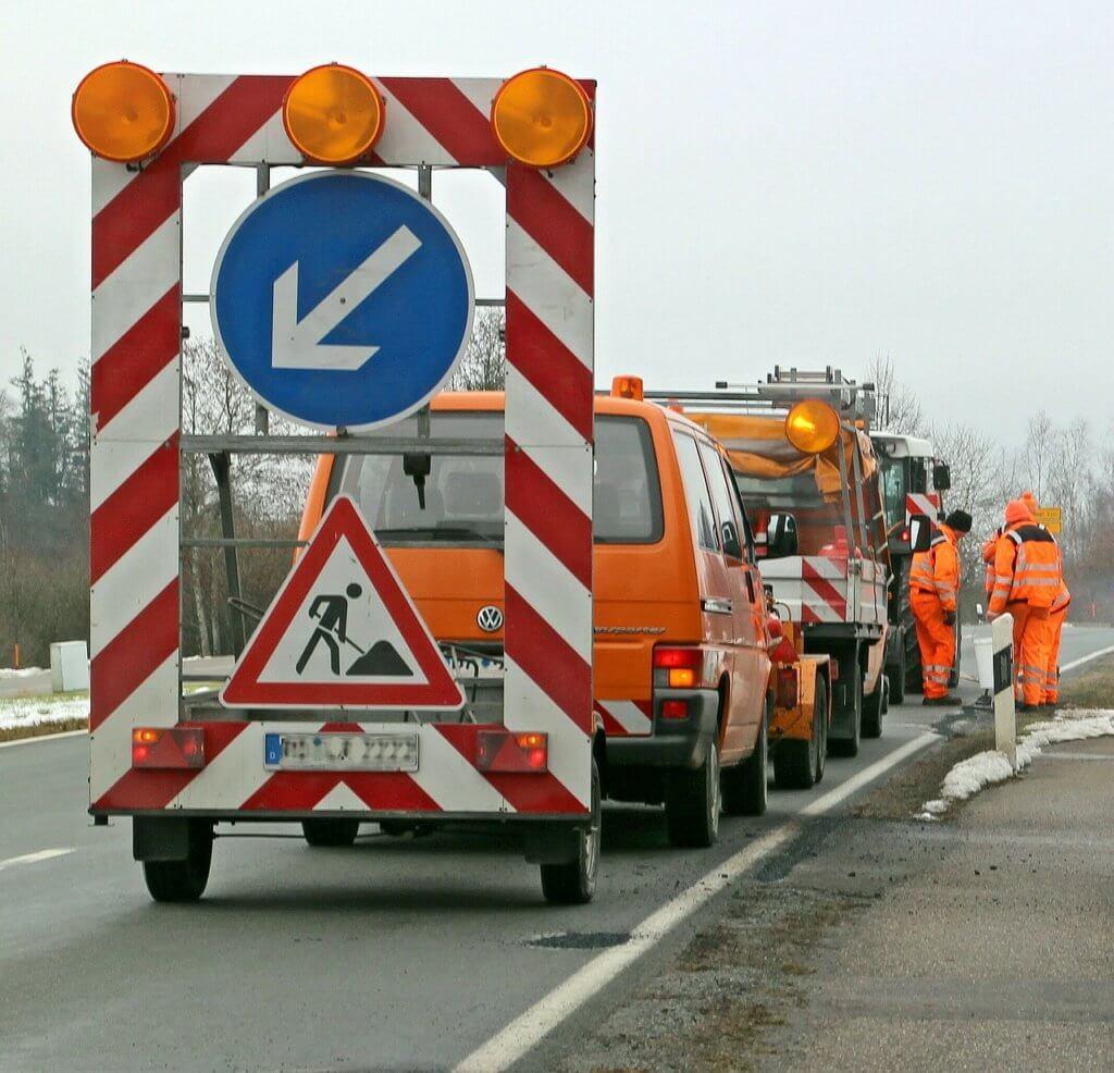 Восстановление покрытия дороги