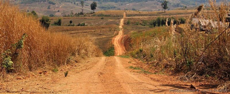 сельская дорога фото